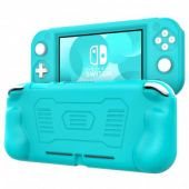 TiMOVO Custodia Console Custodia Protettiva Compatibile con Nintendo Switch Lite in Silicone con Impugnature, Accessori per Switch, Protezione Urti, Graffi, Case per Switch Lite - Turchese