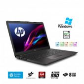 "HP 255 G7 SSD Notebook PC portatile,Display da 15.6"", Cpu Amd A4,fino a 2,0 GHz Burst Mode 8 GB DDR4 , SSD M.2 256 Gb, Bluetooth, WIFI, Dvd-Cd rw,Windows 10 Pro Pronto All'uso"
