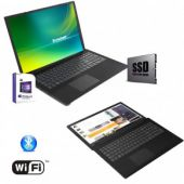 "Notebook Pc Portatile Lenovo,Display da 15.6"",Cpu Amd A4 2.30GHz,Ram 8 Gb Ddr4,Ssd 256 Gb,Grafica Radeon R3, Hdmi,2x USB 3.0 ,Masterizzatore Dvd, Wi fi,Bluetooth,Open Office,Windows 10 professional"