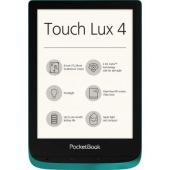 Pocketbook Touch Lux 4 lettore e-book Touch screen 8 GB Wi-Fi Verde